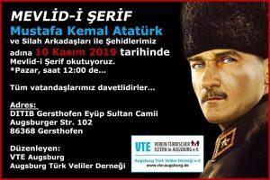 Atatürk anma günü